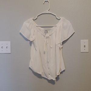 White Express shirt